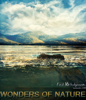 Wonders of Nature - 2D backgrounds 2D Graphics bonbonka