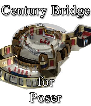 Century Bridge for Poser 3D Models VanishingPoint