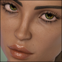Twizted 100 Faces for Genesis 8 Female image 4