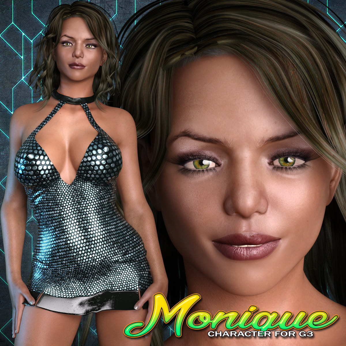 Exnem Monique Character for G3 Female
