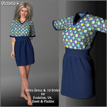 Arlys Dress and 10 Styles for Evolution, V4, Dawn and Pauline image 4
