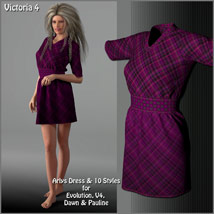 Arlys Dress and 10 Styles for Evolution, V4, Dawn and Pauline image 6