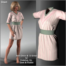 Arlys Dress and 10 Styles for Evolution, V4, Dawn and Pauline image 8
