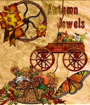 Harvest Moons Autumn Jewels 2D Graphics Harvest_Moon_Designs