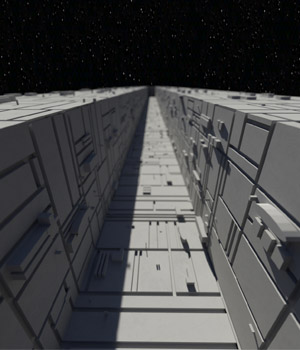 Space Station Trench 3D Models paulbrake