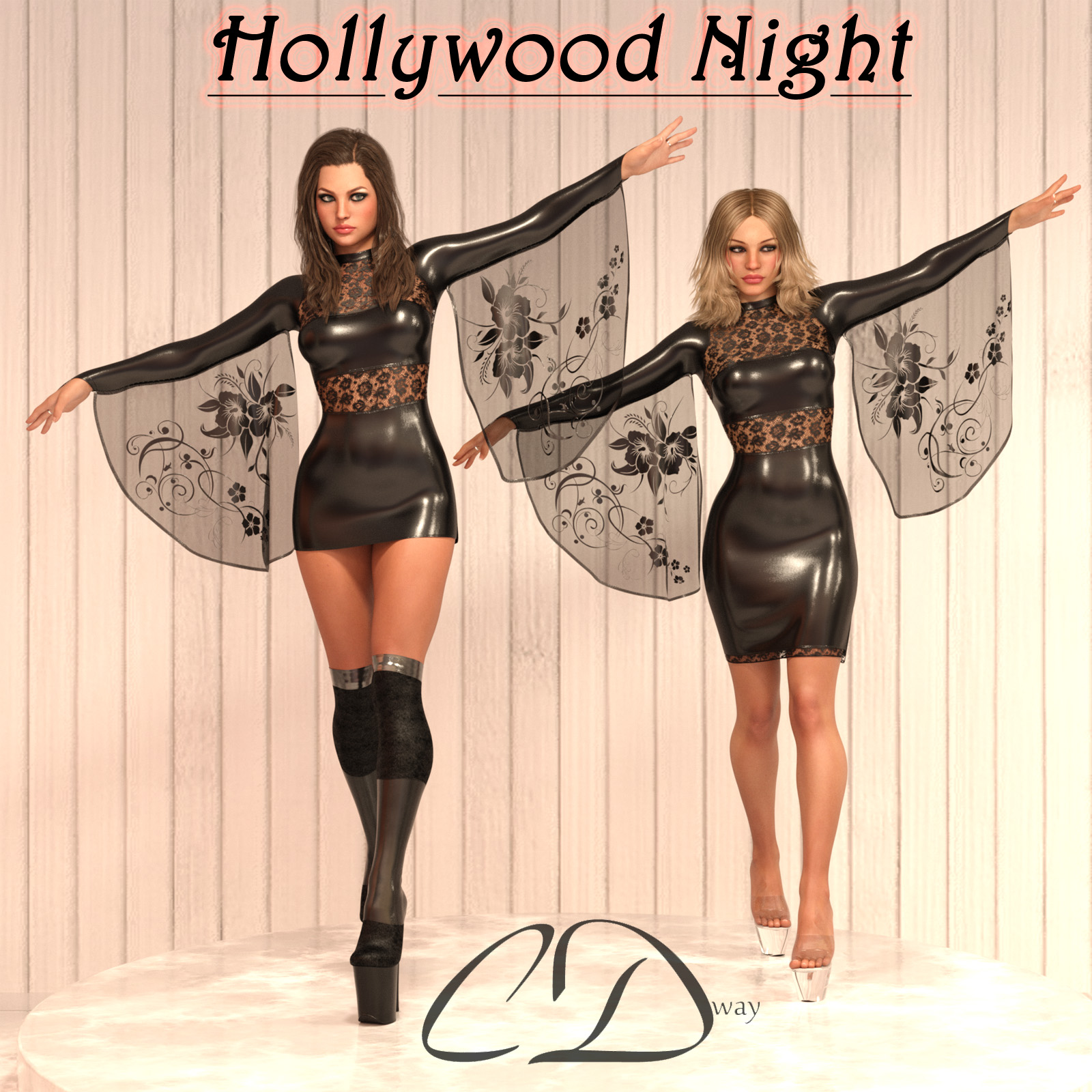 dForce - Hollywood Night for g3f