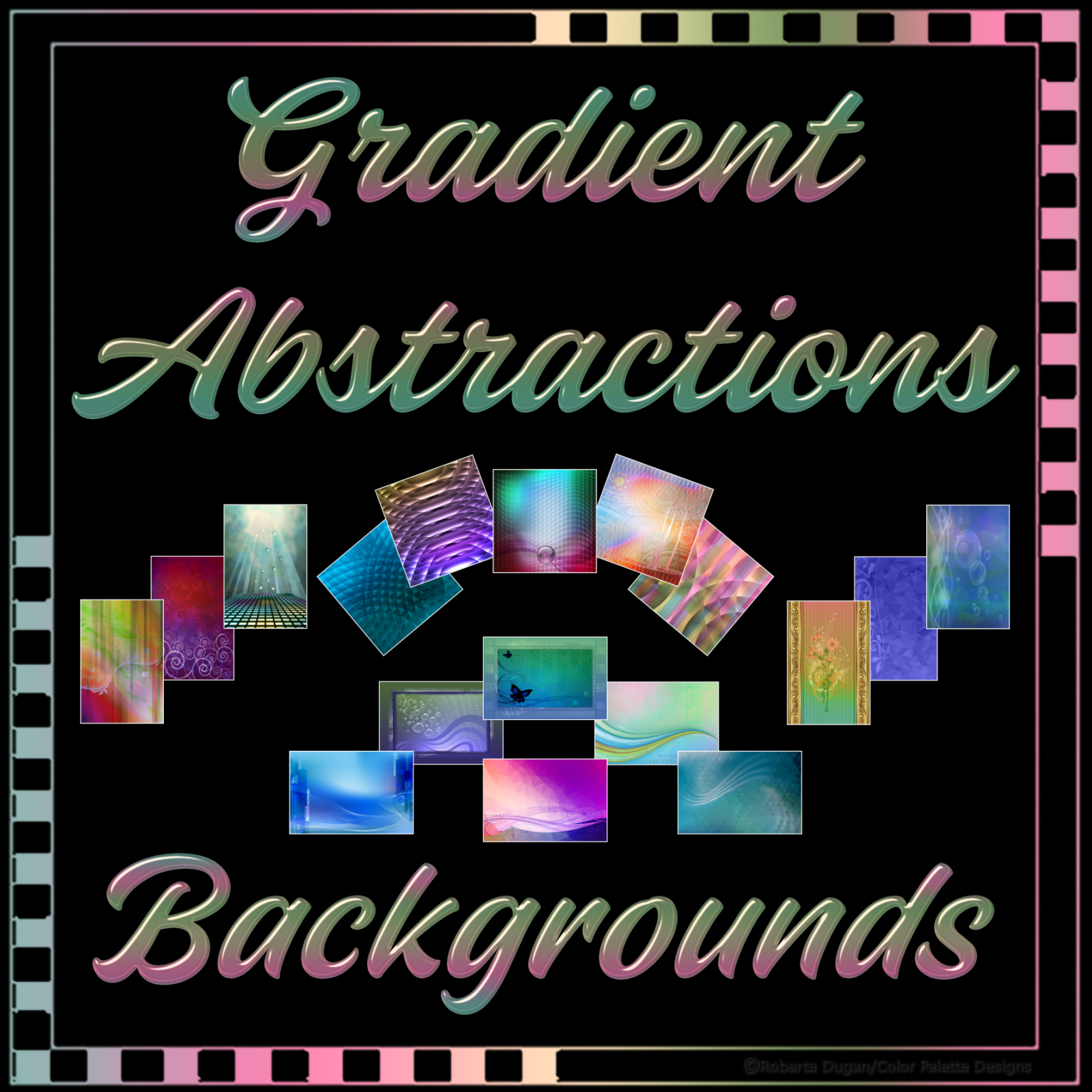Gradient Abstractions Background Pack