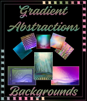Gradient Abstractions Background Pack 2D Graphics Merchant Resources fractalartist01