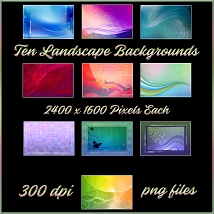 Gradient Abstractions Background Pack image 1