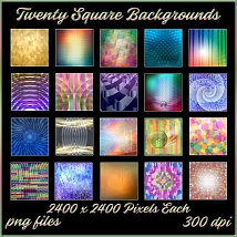 Gradient Abstractions Background Pack image 3