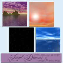 Backgrounds of Lucid Dreams II image 2