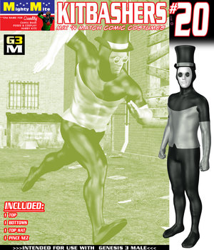 Kitbashers 020 MMG3M 3D Figure Assets MightyMite