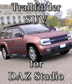 Trailfinder SUV or DAZ Studio 3D Models VanishingPoint