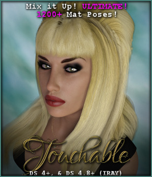 Touchable Horror Hostess 3D Figure Assets -Wolfie-