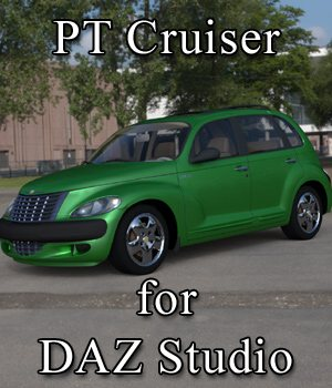 PT Cruiser for DAZ Studio 3D Models VanishingPoint