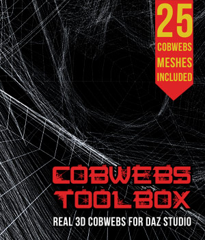 Cobwebs Toolbox for DS Iray 3D Models powerage