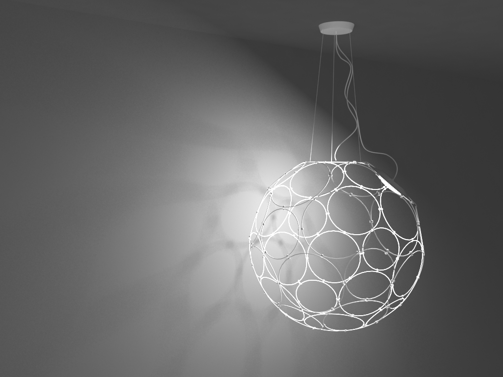 Hanging Lamp - EXTENDED LICENSE