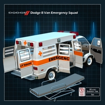 DODGE B VAN AMBULANCE image 1