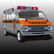 DODGE B VAN AMBULANCE image 3