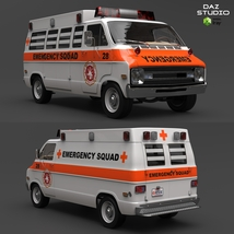 DODGE B VAN AMBULANCE image 8