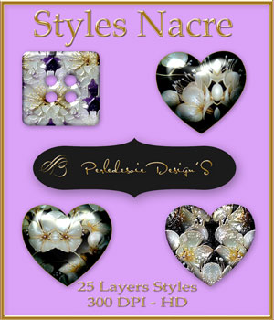 Styles Nacre 2D Graphics Merchant Resources Perledesoie
