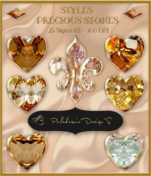 Styles Precious Stones 2D Graphics Merchant Resources Perledesoie