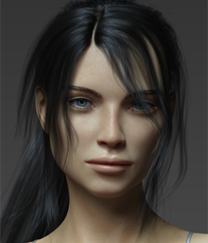 Chloe G8F 3D Figure Assets Anagord