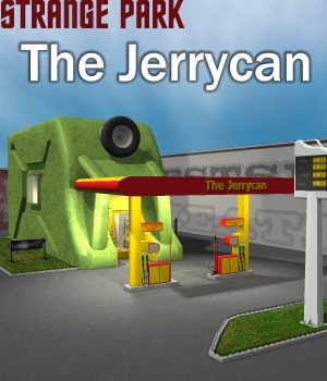 Strange Park - The Jerrycan 3D Models greenpots