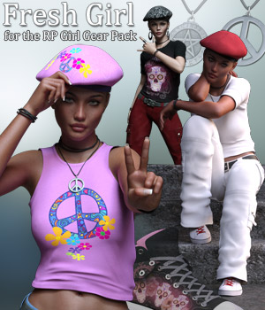 RP Fresh Girl for the RP Girl Gear Pack by Rhiannon