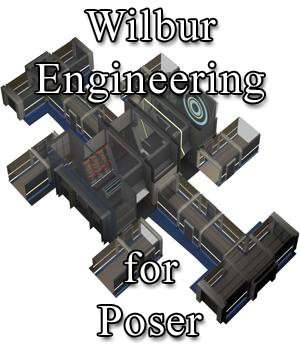 Wilbur Engineering - for Poser 3D Models VanishingPoint