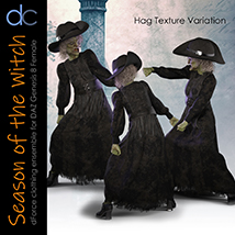 DC-Season Of The Witch for DAZ G8 Female image 4