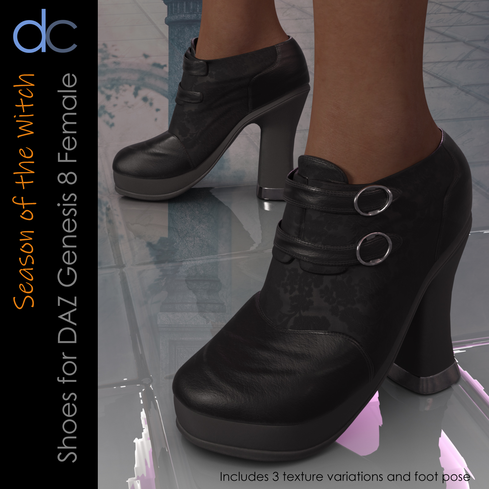 DC-Season Of the Witch Shoes for G8Female