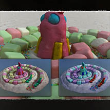 Macro Worlds: Candyworld Vistas image 6