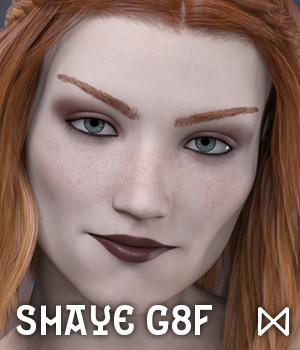 Shaye for Genesis 8 Female 3D Figure Assets Dimensionarium