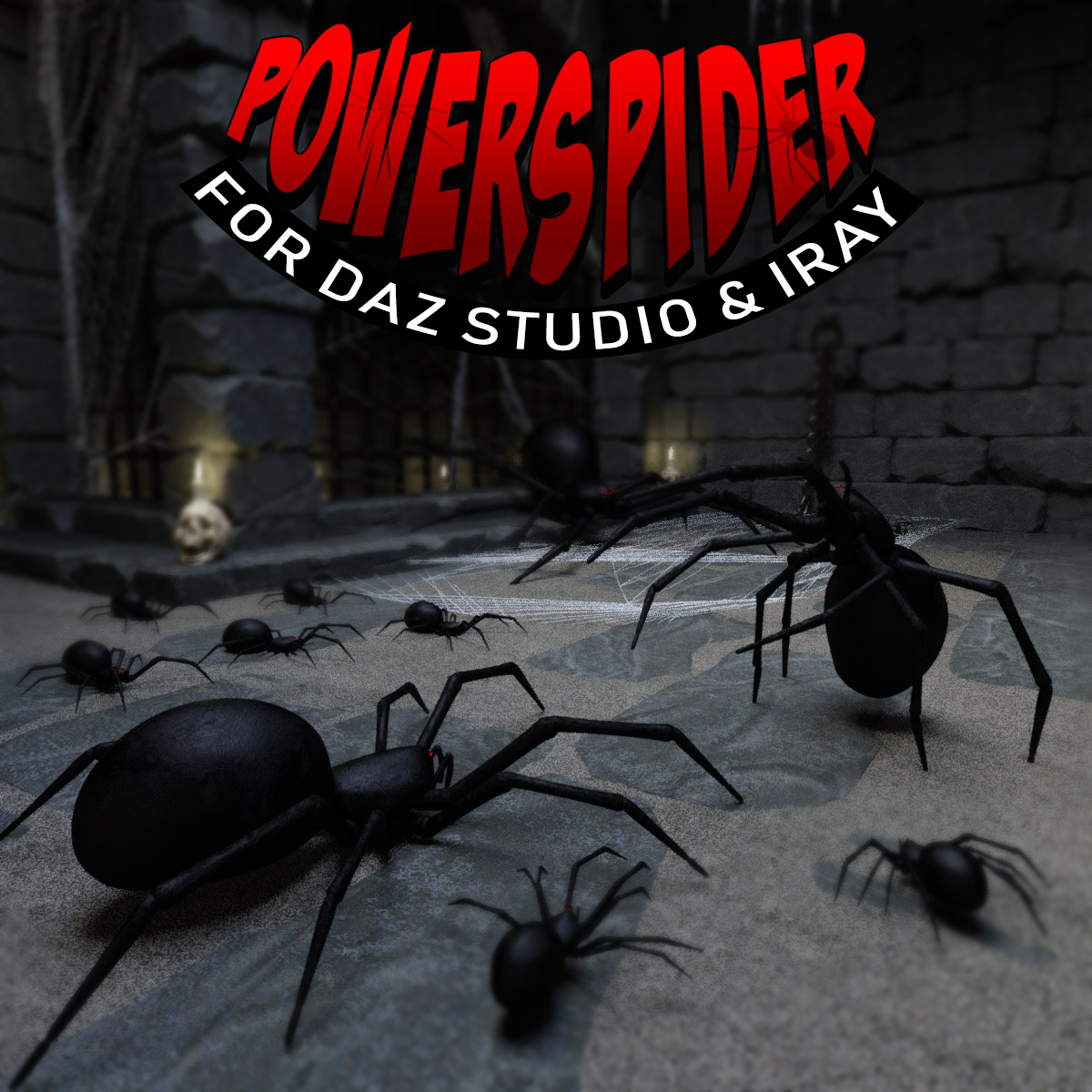 Power Spider for DS Iray