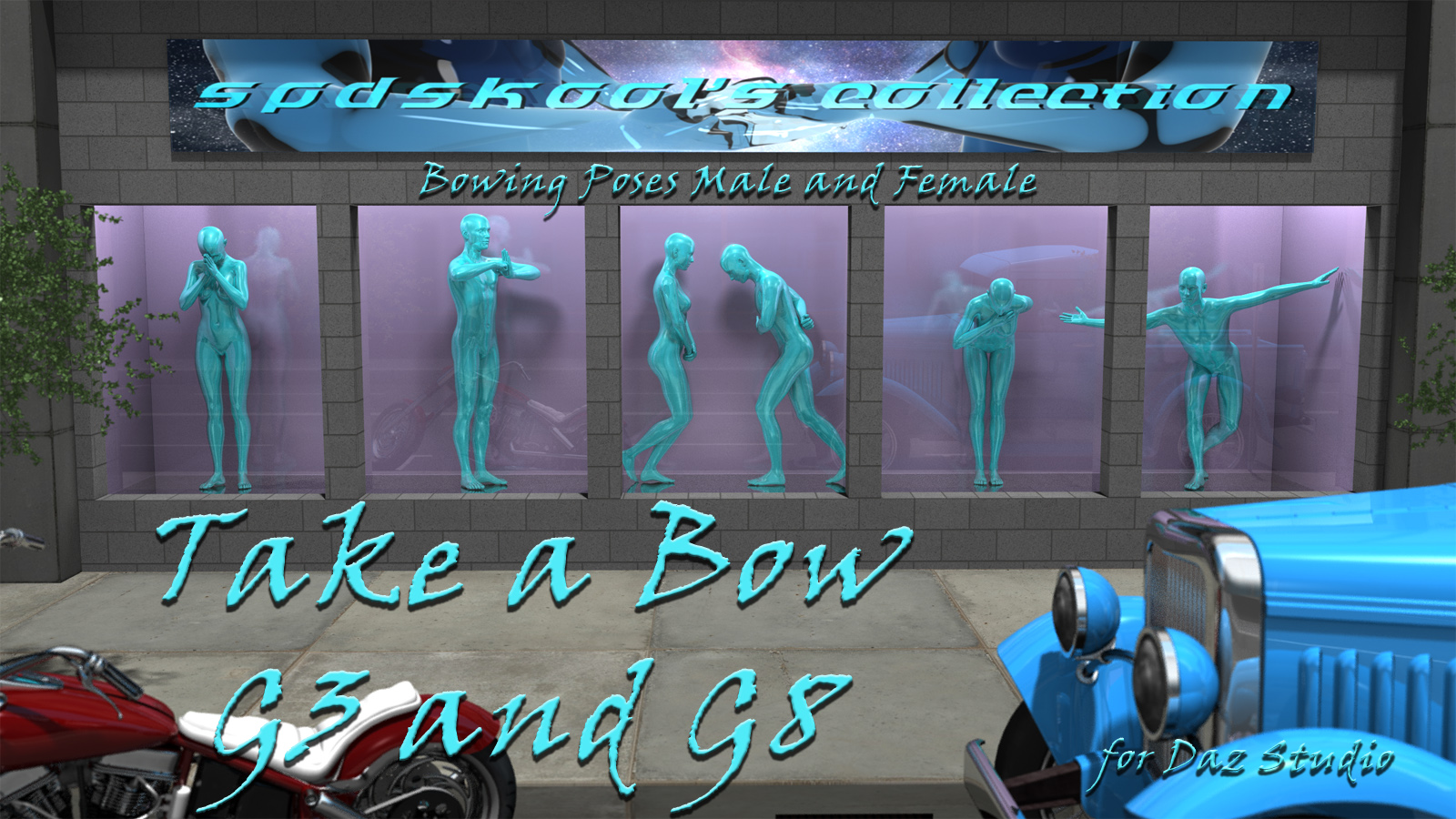 Take a Bow G3 and G8 by spdskool