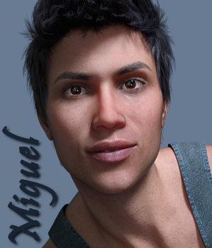 Miguel for Genesis 8 Male 3D Figure Assets PsychoGinger