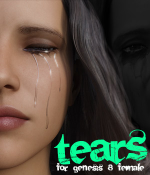 Tears for G8 females 3D Figure Assets powerage