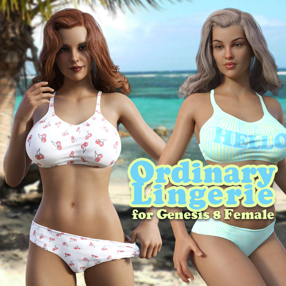 Ordinary Lingerie for G8F by powerage