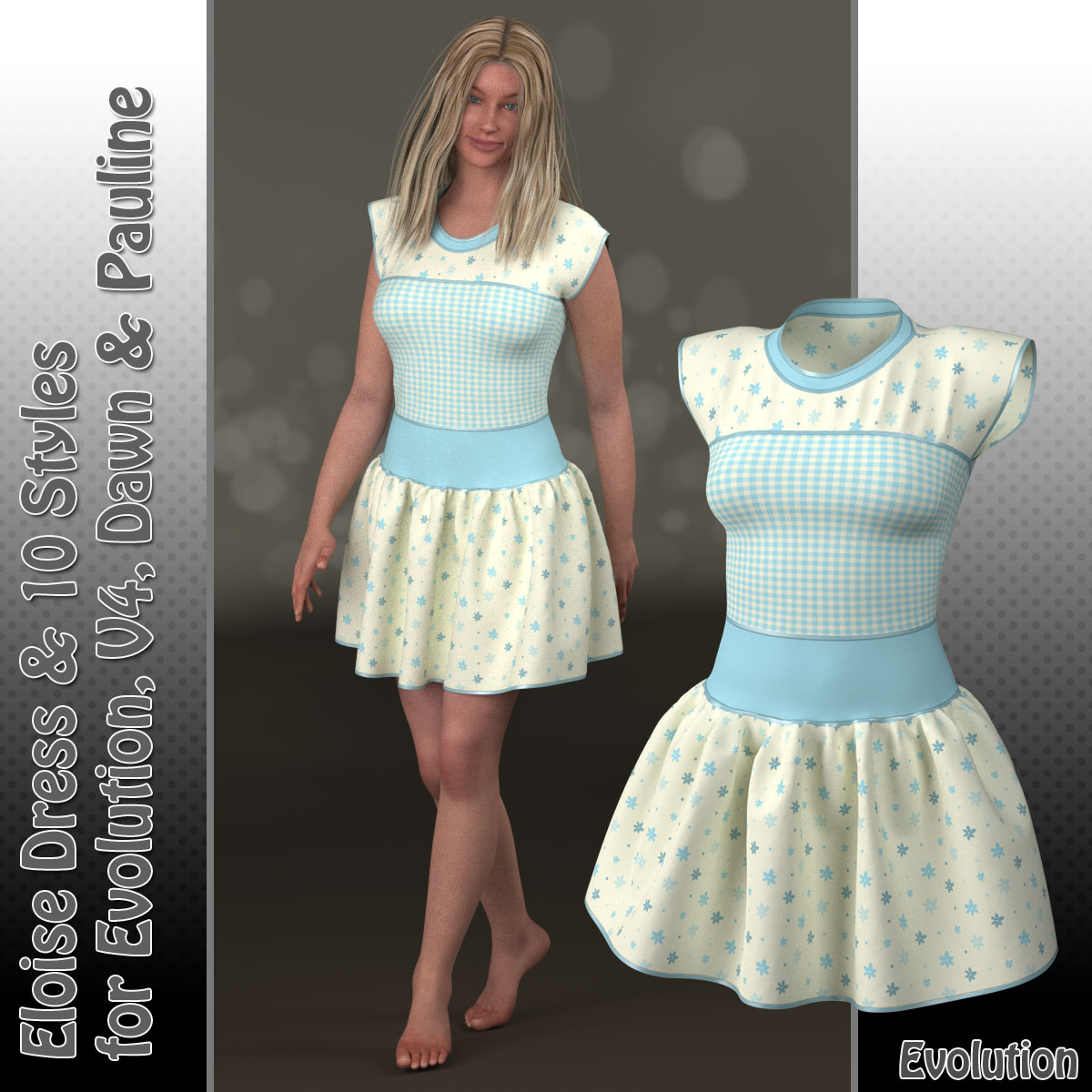 Eloise Dress and 10 Styles for PE, V4, Dawn and Pauline