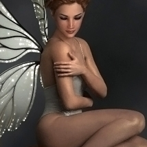 Luminous Fairy Poses and Props for G3F & G8F image 2