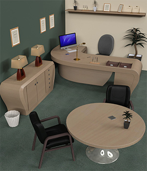 Centriq - Office Furniture 1 3D Models centriq
