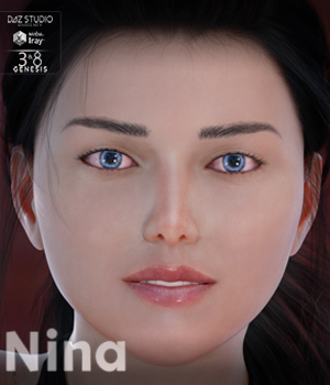 Nina for Genesis 3 Female 3D Figure Assets MavenGames