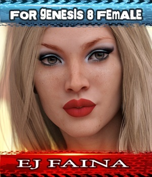 EJ Faina For Genesis 8 Female 3D Figure Assets EmmaAndJordi
