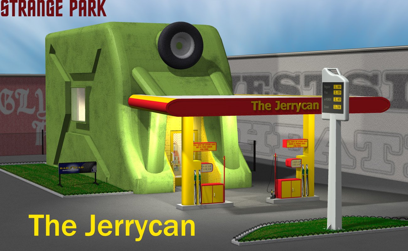 The Jerrycan - Extended License