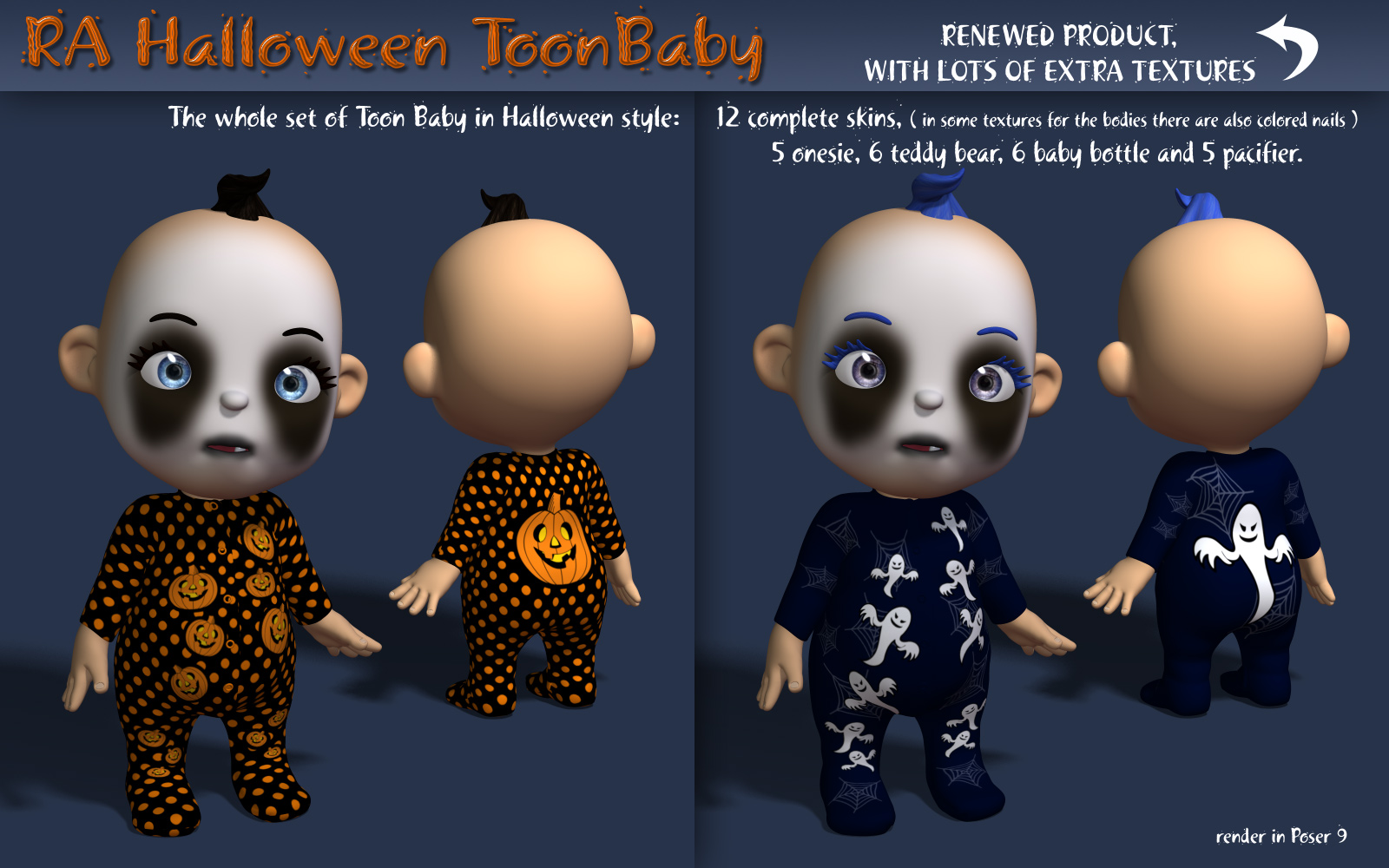 RA Halloween ToonBaby by RAGraphicDesign