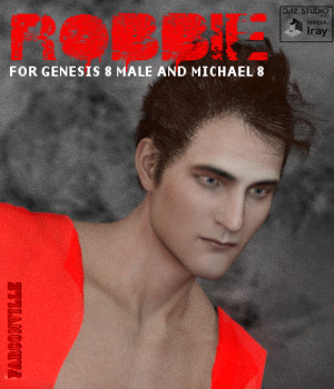 Robbie for Genesis 8 Male and Michael 8 3D Figure Assets farconville