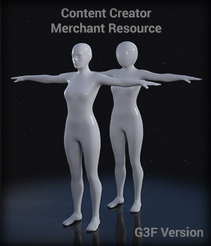 Full Body Suit Meshes for G3F - Content Creator MR  Merchant Resources EdArt3D