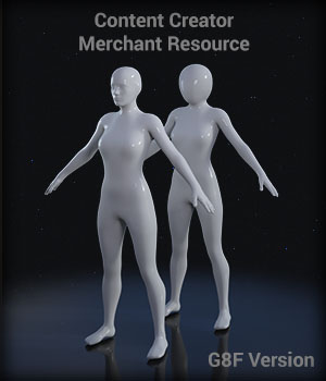 Full Body Suit Meshes for G8F - Content Creator MR Merchant Resources EdArt3D
