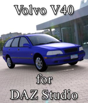 Volvo V40 - for DAZ Studio 3D Models Digimation_ModelBank